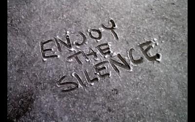 Oh de stilte… wat kan ik ernaar verlangen!