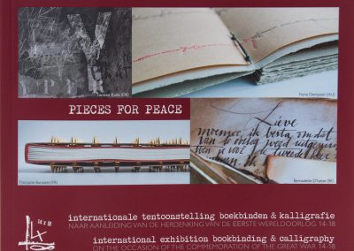 Foto's voor catalogus Pieces for Peace